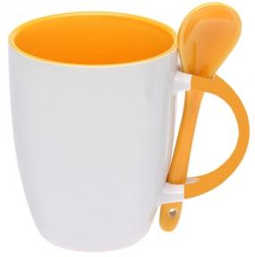 Бело-оранжевый