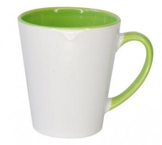 Бело-светло-зеленый