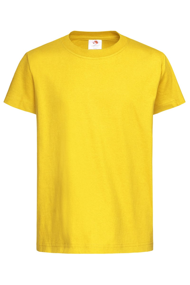 Яркий желтый